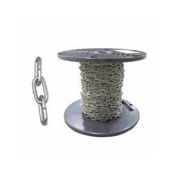 CATENA GENOVESE N.10 mm 1.5 m 50 BB INX 304 AREF