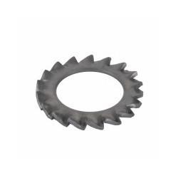 RONDELLA DENTELLATA M 5 INOX A2-304 DIN6798