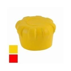 TAPPO PROTEZIONE TUBI PONTEGGI giallo mm 48 Pz.10