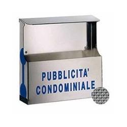 CASSETTA PUBBLICITA' INOX TETTO 41-512 SILMEC
