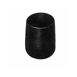 SOTTOPIEDE CALZANTE PLASTICA NERO mm 24