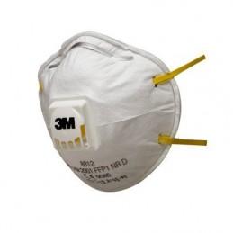 3M Respiratore monouso 8812, FFP1 NR D, con valvola (10)